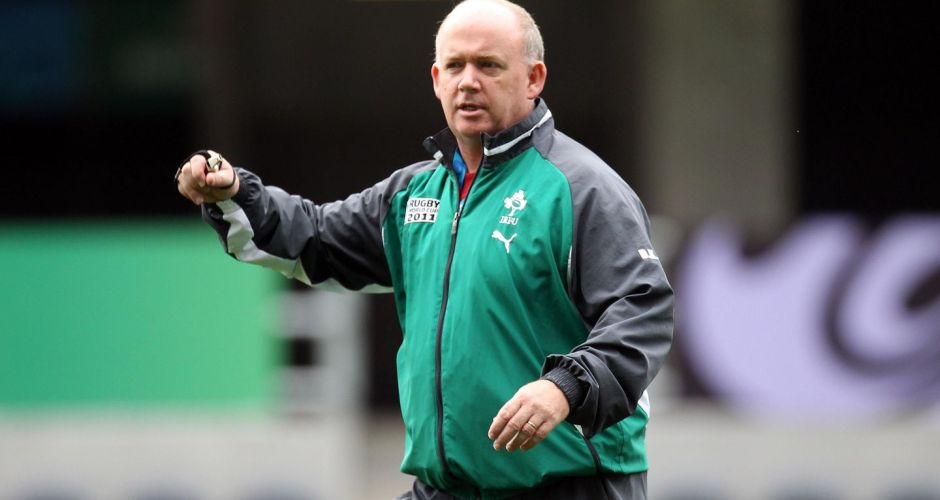 End of Declan Kidney's tenure as Ireland rugby coach