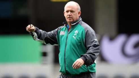 Declan Kidney's five-year reign as Ireland manager is to come to an end. Photograph: Dan Sheridan/Inpho