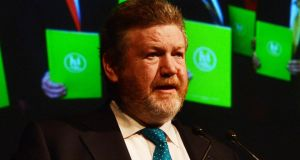 Minister for Health  James Reilly: The internal EU Commission paper makes a number of very critical assessments of the Irish health care sector. Photograph: Cyril Byrne/The Irish Times