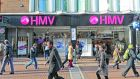 The HMV store at 65/66 Grafton Street, Dublin. Photograph: Eric Luke