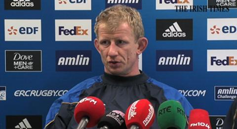 Ireland rugby player Leo Cullen reflects on the end of Declan Kidney's time as head coach of the team, lauds his contribution and says he's