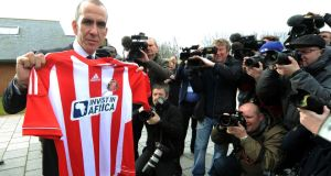 Sunderland head coach Paolo di Canio has issued a statement on the club's official website. Photograph: Owen Humphreys/PA Wire