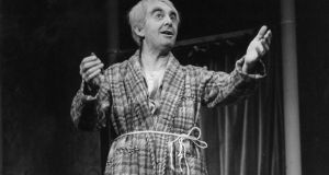 Milo O'Shea in a scene from the Neil Simon's The Sunshine Boys in 1973.