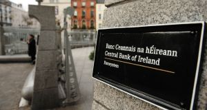 As part of the liquidation of IBRC, the Central Bank exchanged promissory notes previously held by the former Anglo  for €25 billion in Irish government bonds. Photograph: Aidan Crawley/Bloomberg