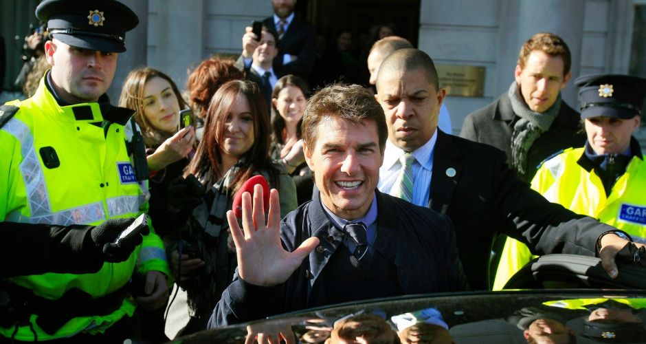 Tom Cruise: A Hollywood A-lister in Dublin