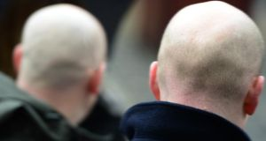 Bald or extensively balding men aged between 55 and 60 were 44 per cent more likely to develop coronary artery disease, according to the study published in the online journal BMJ Open. Photograph: Bryan O'Brien/The Irish Times
