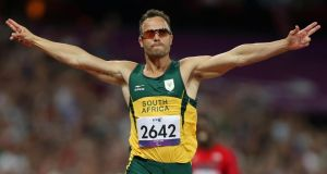 Oscar Pistorius's family have denied ruours that the athlete is back training. Photograph: John Walton/PA Wire