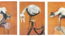 Francis Bacon's 'Three Studies for Figures at the Base of a Crucifixion (1944) Photograph: Tate