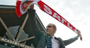 """Even if Paolo Di Canio has attempted to mollify public opinion with various apologies on the Sunderland website, that is hardly the point. His track record as a Mussolini enthusiast is long established."" Photograph: Reuters/Nigel Roddis"