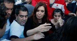 "Argentinian president Cristina Kirchner was described by Uruguayan president José Mujica as an ""old hag"" and as ""obstinate"". Photograph: Agustin Marcarian/Reuters"