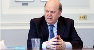 Minister for Finance, Michael Noonan, has appointed former IBRC director Oliver Ellingham to the board of Nama. Photograph: Bryan O'Brien
