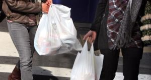 A new plastic bag levy is coming into  effect in Northern Ireland.