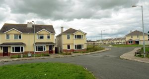 There were 624 new builds at the start of 2013 nationwide, compared to 726 a year earlier. Photograph: Brenda Fitzsimons/The Irish Times