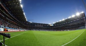 Croke Park will host three double headers to decide the football leagues.