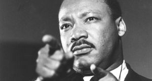 Martin Luther King III continues his father Martin Luther King Jr's tradition of activism on behalf of the excluded and underprivileged. Photograph: AP Photo