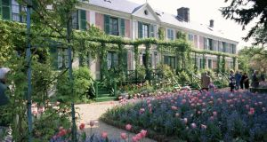 Monet's house and garden in Giverny, France. Photograph: Getty