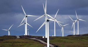 "Wind farms: An Taisce has said in the past that it ""enthusiastically supports"" the Government target to generate at least 40 per cent of our electricity from renewable sources by 2020. Photograph: Ben Curtis/ PA Photo"