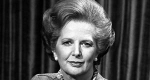 Margaret Thatcher in 1982; Urged to do a U-turn on austerity in the early 1980s, the lady was not for turning.
