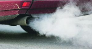 Diesel fumes from cars, buses and trucks contribute to Ireland's poor standard of air quality. Photo: Andreas Rentz/Getty Images