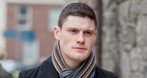 Diarmuid Connolly arrives at Dublin District Court today. Photograph: Collins Courts