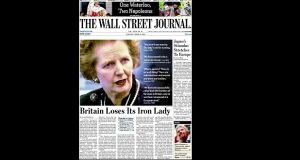 Newspapers respond to death of 'Iron Lady' Margaret Thatcher both vilified and celebrated upon death in 2013