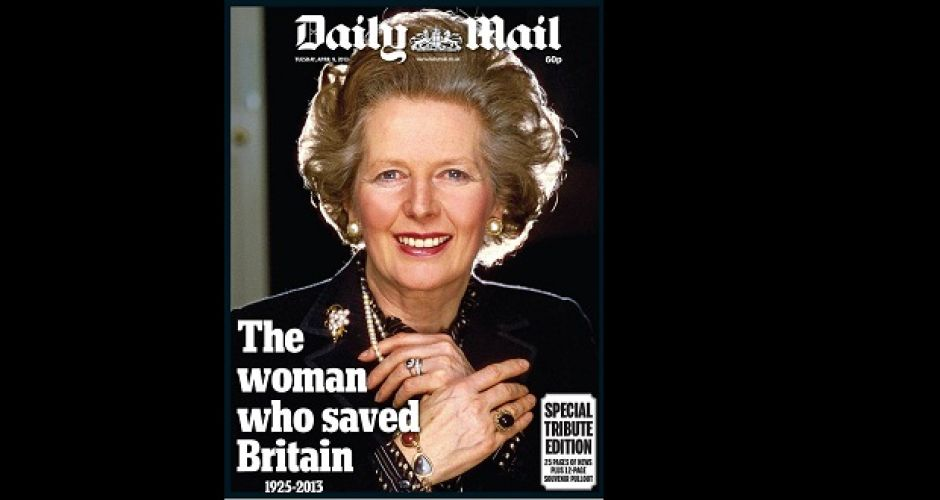 Margaret Thatcher: media reaction