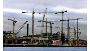 A view of Dublin docklands during the boom time in 2005. Photograph: Irish Times