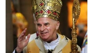 File photo of Cardinal Keith O'Brien who is stepping down as the head of the Catholic Church in Scotland. Photograph: David Cheskin/PA Wire