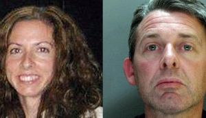 Catherine Gowing (left), was murderd by Clive Sharp (right) last October. Photographs: PA Wire