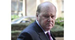 Minister for Finance Michael Noonan: said 'significant progress' had been made in addressing Ireland's banking problems.