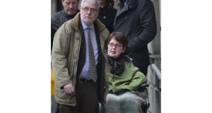 The Supreme Court is considering an appeal by Marie Fleming of a High Court ruling that said she could not be helped to take her own life.