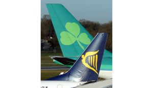 Ryanair holds nearly 30 per cent of Aer Lingus and has dismissed the decision as 'political'.