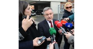 Minister for Public Expenditure Brendan Howlin, who has political responsibility for the new Croke Park deal, will introduce legislation to cut public pay. Photograph: Dara Mac Donaill.