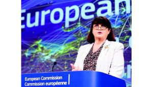 European Commissioner for Research and Innovation Maire Geoghegan-Quinn. Photograph: Eric Luke.