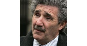 Independent TD John Halligan: burglars should be obliged to make redress to their victims. Photograph: Dara Mac Donaill/The Irish Times