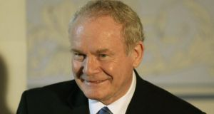 "Martin McGuinness tweeted: ""Resist celebrating the death of Margaret Thatcher. She was not a peacemaker but it is a mistake to allow her death to poison our minds."" Photograph: Reuters/David Moir"