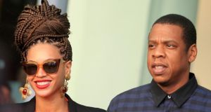 American singer Beyonce and her husband rapper Jay-Z leaving their hotel in Havana at the beginning of April. The visit was a cultural trip that was fully licensed by the US treasury department, a source familiar with the trip said. Photograph: Enrique De La Osa/Reuters