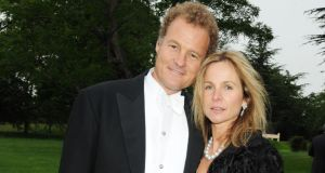 Lord Rothermere and his wife Claudia. Photograph: Dave M Benett/Getty Images