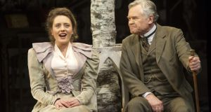 Rebecca O'Mara and David Yelland in Mrs Warren's Profession