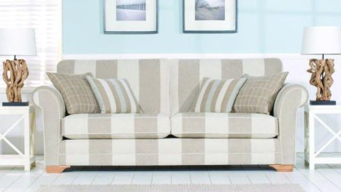 Couch down: At Casey's (caseys.ie) the Newport three-seat sofa (right) is reduced from €1,735 to €999 and is available in 30 fabrics (198cm by 91cm by 91cm with a seat depth of 53cm). Selected bedding is also reduced. A 4ft 6in Sovereign mattress and divan set is down from €1,398 to €699. The Cuba bedroom set (5ft bed frame, two matching lockers and a six-drawer chest) is reduced from €1,862 to €999. Offers available at branches on Oliver Plunkett Street , Cork (021-4270393) and at Raheen roundabout, Limerick (061-307070).