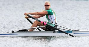 Sanita Puspure: Ireland's only women's rowing success at London Olympics.  Photograph: Inpho