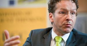 Dutch finance minister Jeroen Dijsselbloem: An imminent deal to postpone Ireland's bailout repayments will be enough to secure a smooth exit from the EU-IMF programme later this year