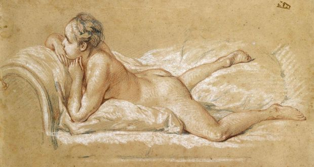 Pity, that Boucher nude on sofa