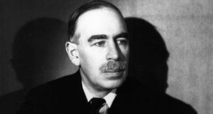 "'John Maynard Keynes's counsels of caution were designed to guide rather than discredit the aspirations of an Ireland which, he remarked, had ""lifted a lively foot out of the bogs to become a centre of economic experiment"".' Photograph: Gordon Anthony/Getty Images"
