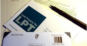 The Revenue Commissioners distributed about 1.2 million letters to houses across Ireland in order to provide information regarding the property tax. Photograph: Bryan O'Brien