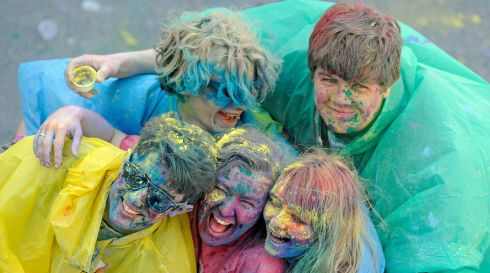 It looks like great fun. Is it great fun? Hell yeah! Photograph: Dave Meehan/The Irish Times