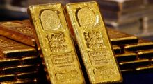 Cash bullion of 99.99 per cent purity sank as much as 8.4 per cent to 285.60 yuan a gram on the Shanghai Gold Exchange, the  lowest since February 2011. Photograph: Bobby Yip/Reuters