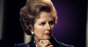 Margaret Thatcher's funeral is already controversial in Britain, and it's not due to take place until Wednesday. Photograph: PA Wire