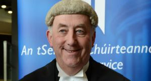 Mr Justice Peter Kelly. Photograph: Cyril Byrne/The Irish Times
