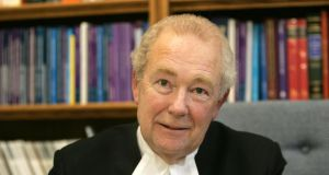President of the High Court Mr Justice Nicholas Kearns.  Photograph: Alan Betson/The Irish Times